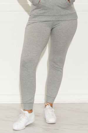 Set You On Track Jogger Grey