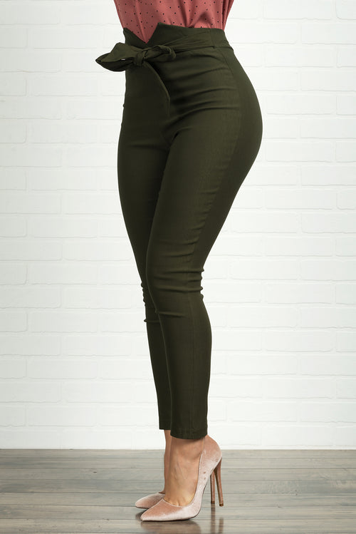 Melannie Pants- Olive