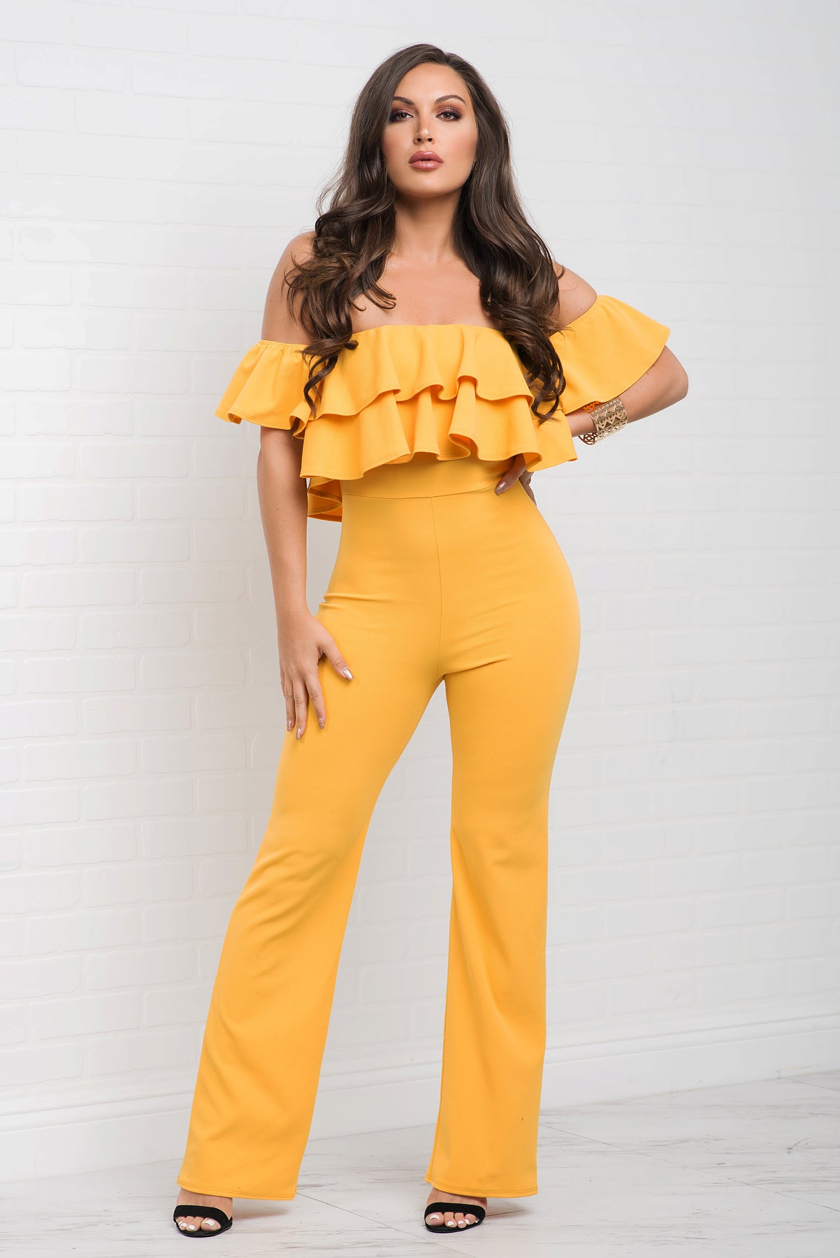 Jenna Jumpsuit - Yellow