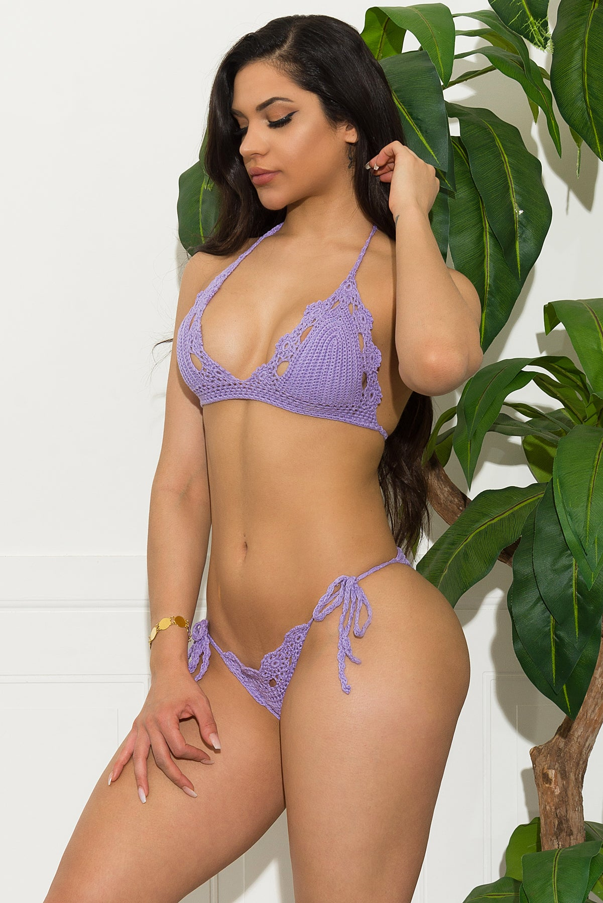 Cambria Coastline Swimsuit- Lavender