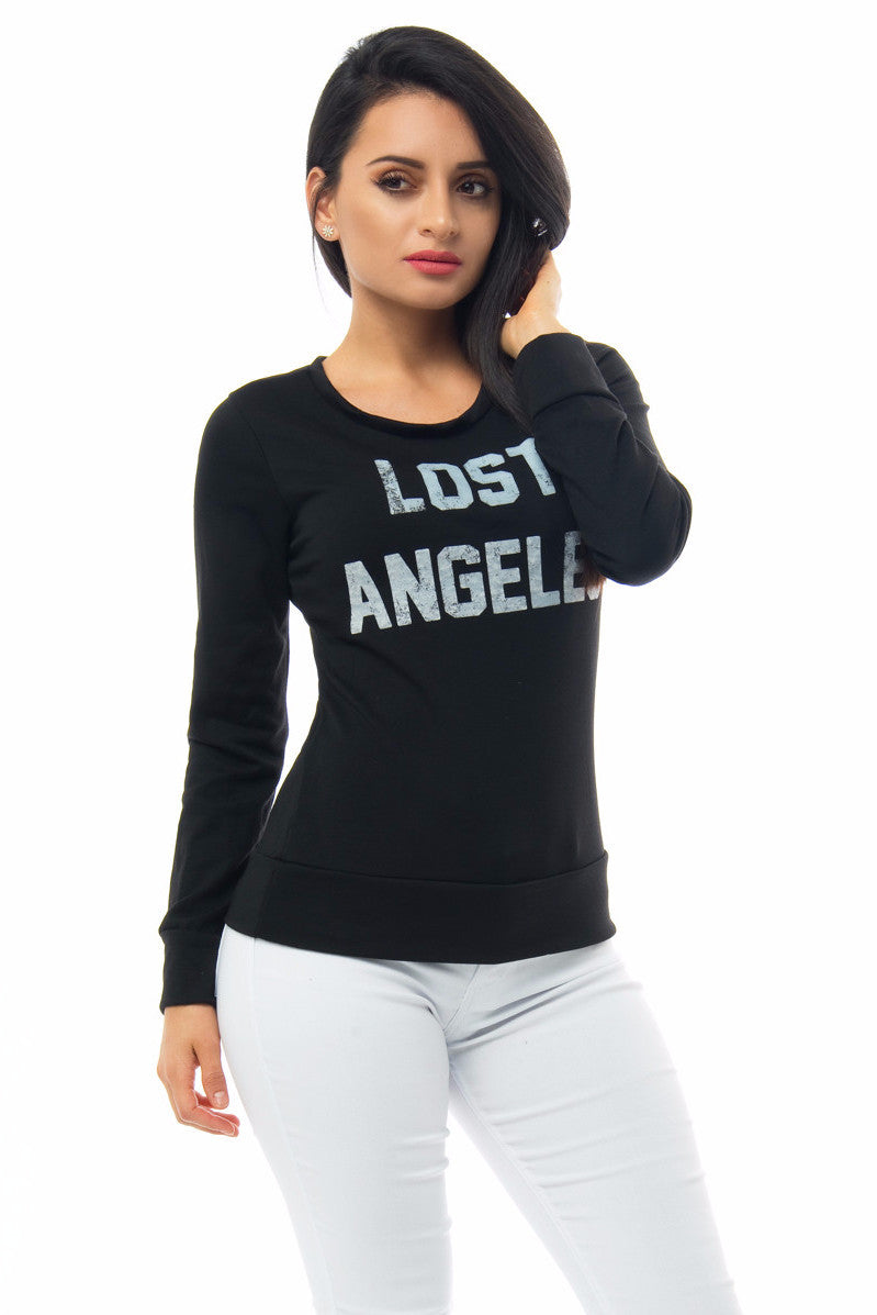 Lost Angeles Black Top - Fashion Effect Store  - 3