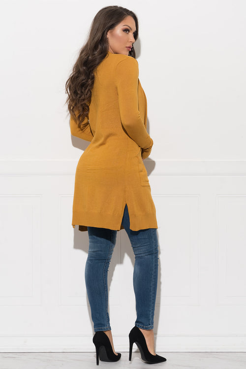 Kyrliam Cardigan - Mustard