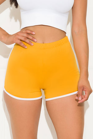 Gotta Have It Short Neon Mustard