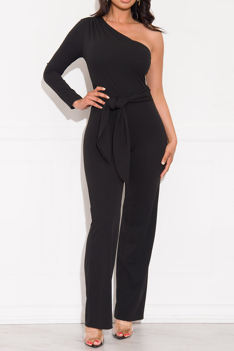 Once In A Life Time Jumpsuit Black
