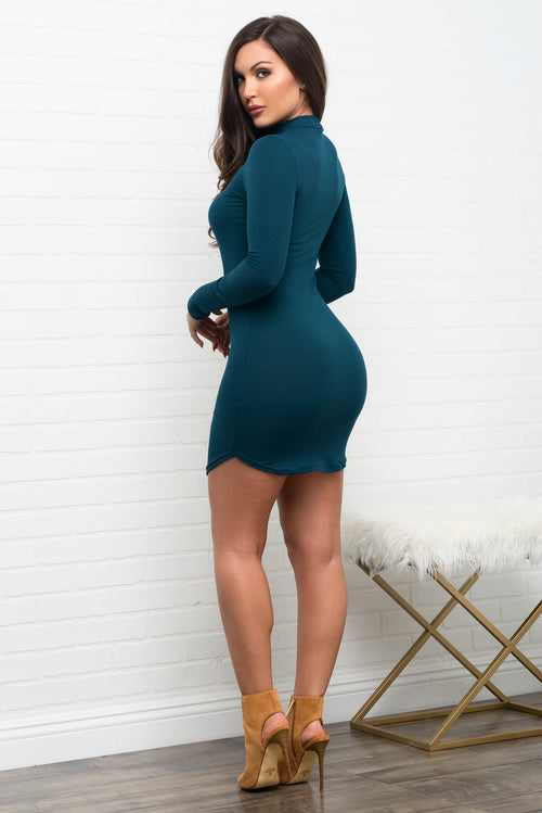 Rayne Dress - Teal