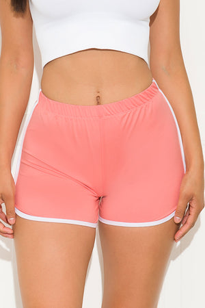 Gotta Have It Short Neon Peach