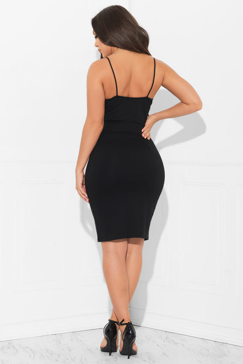 Radiant Beauty Dress Black