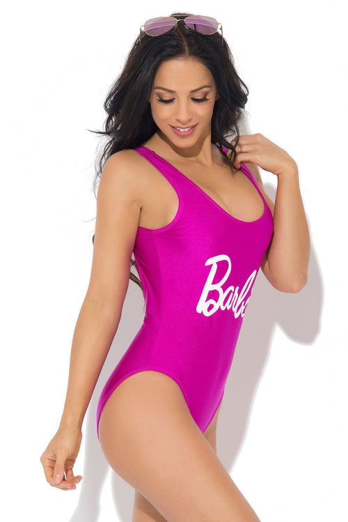 Barbie One Piece Swimsuit Purple - Fashion Effect Store  - 2
