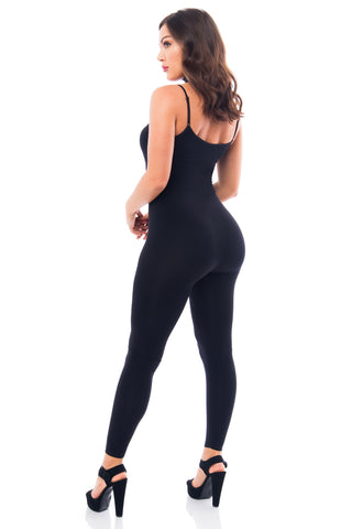 Tania Black Jumpsuit - Fashion Effect Store  - 2