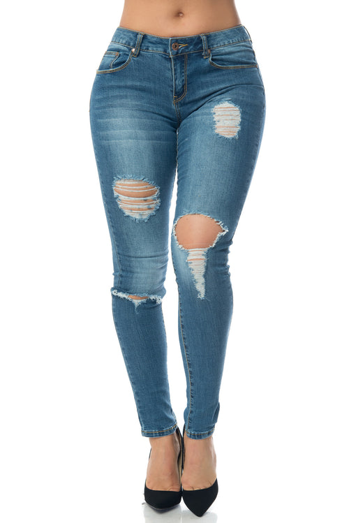 Callie-Butt Lifter Jeans - Fashion Effect Store  - 1