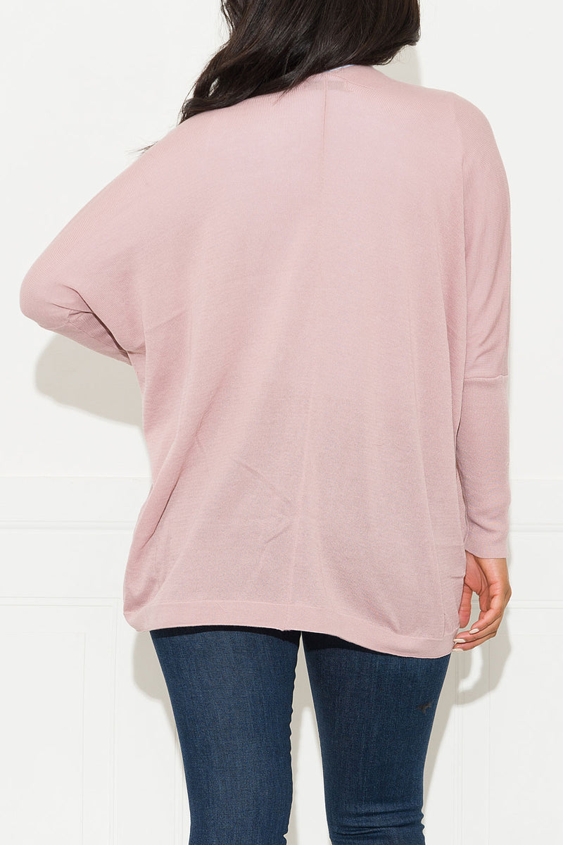 Looking For You Cardigan Sweater Blush