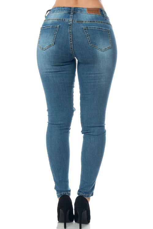 Callie-Butt Lifter Jeans - Fashion Effect Store  - 2