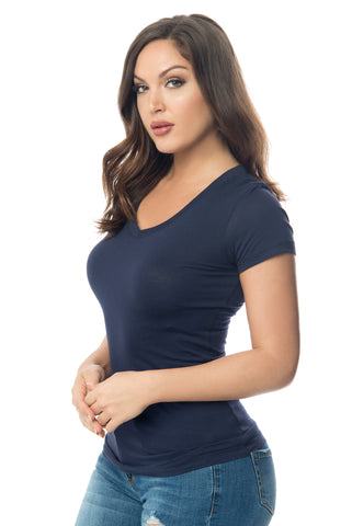 Kennedy Navy Blue Top - Fashion Effect Store  - 1