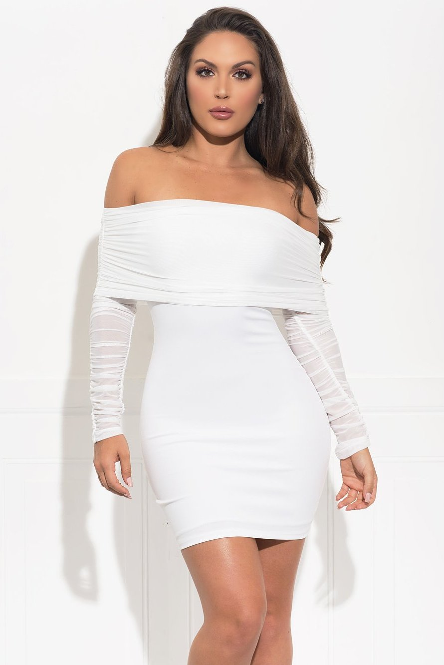 Dalenna Dress - White
