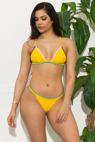 Arborfail Cove Two Piece Swimsuit - Green