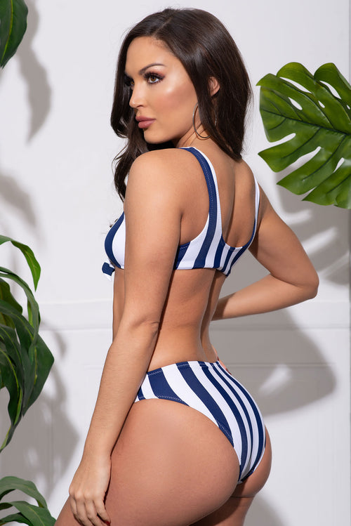 Shark Strand Two Piece Swimsuit