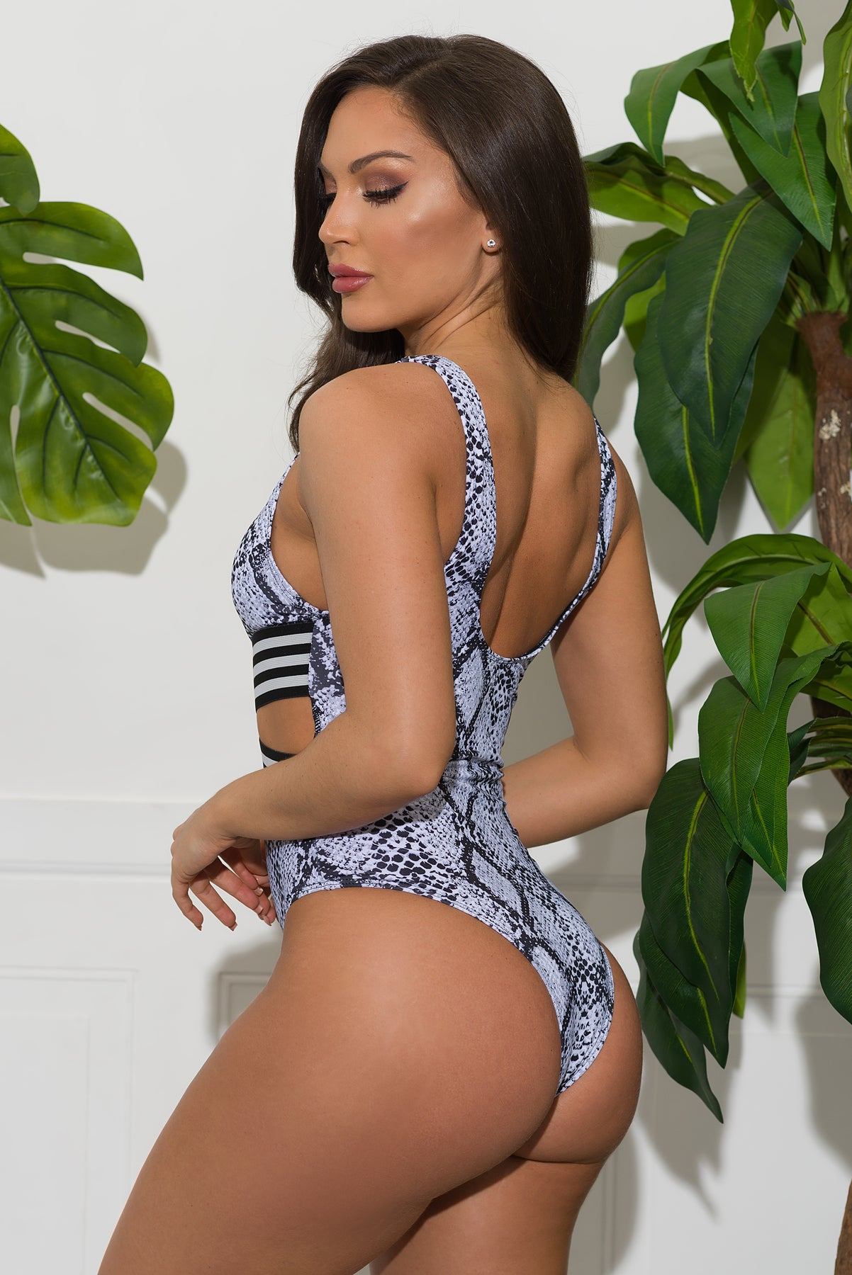 French Riviera One Piece Swimsuit