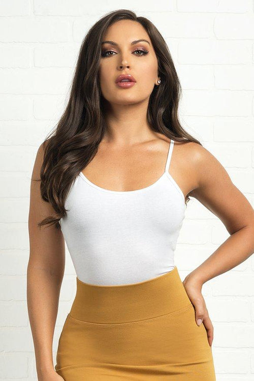 Carly Bodysuit- White
