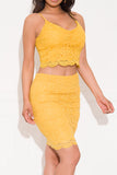Make It Lovely Two Piece Set Yellow