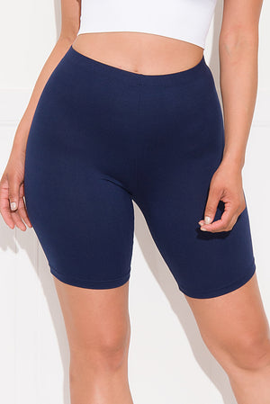 Chill With It Biker Short Navy