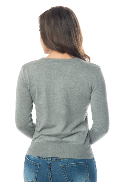 Lucia Gray Sweater - Fashion Effect Store  - 4