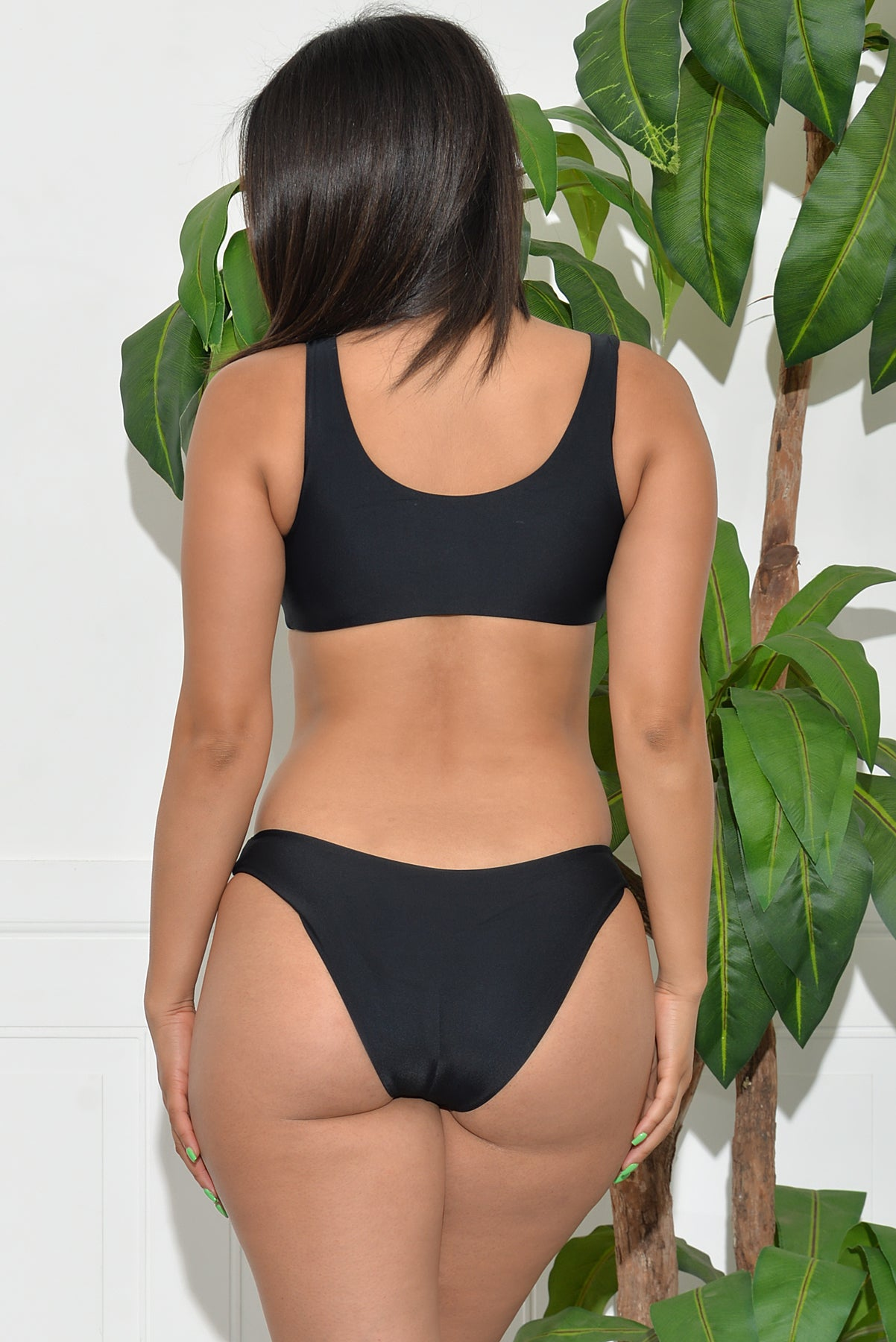Ventura Beach Two Piece Swimsuit - Black