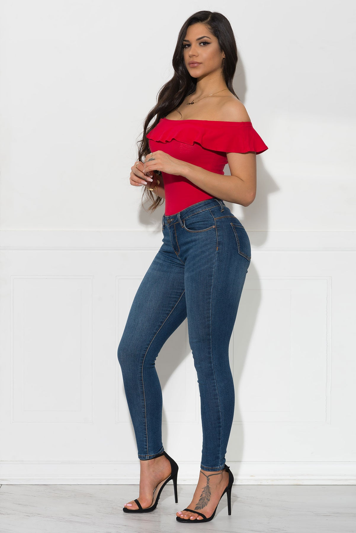 Val Bodysuit - Red