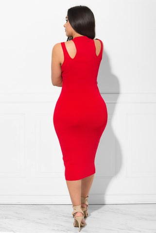 Willow Dress RED - Fashion Effect Store  - 2