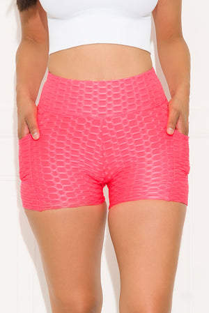 Go For It Short Neon Pink