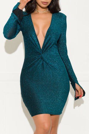 At Your Best Dress Teal
