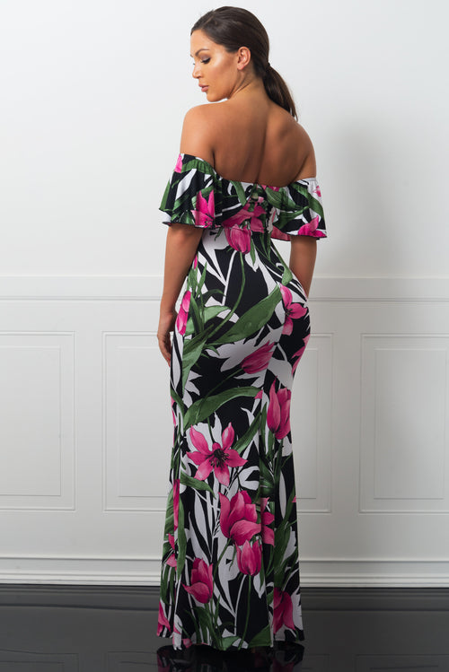 Mayte Maxi Dress Floral