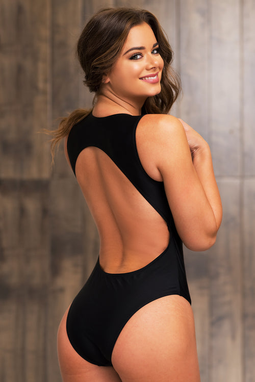 Discovery Bay One Piece Swimsuit - Black