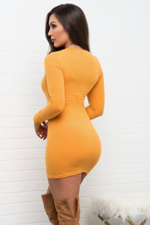 Jadelyn Dress - Yellow