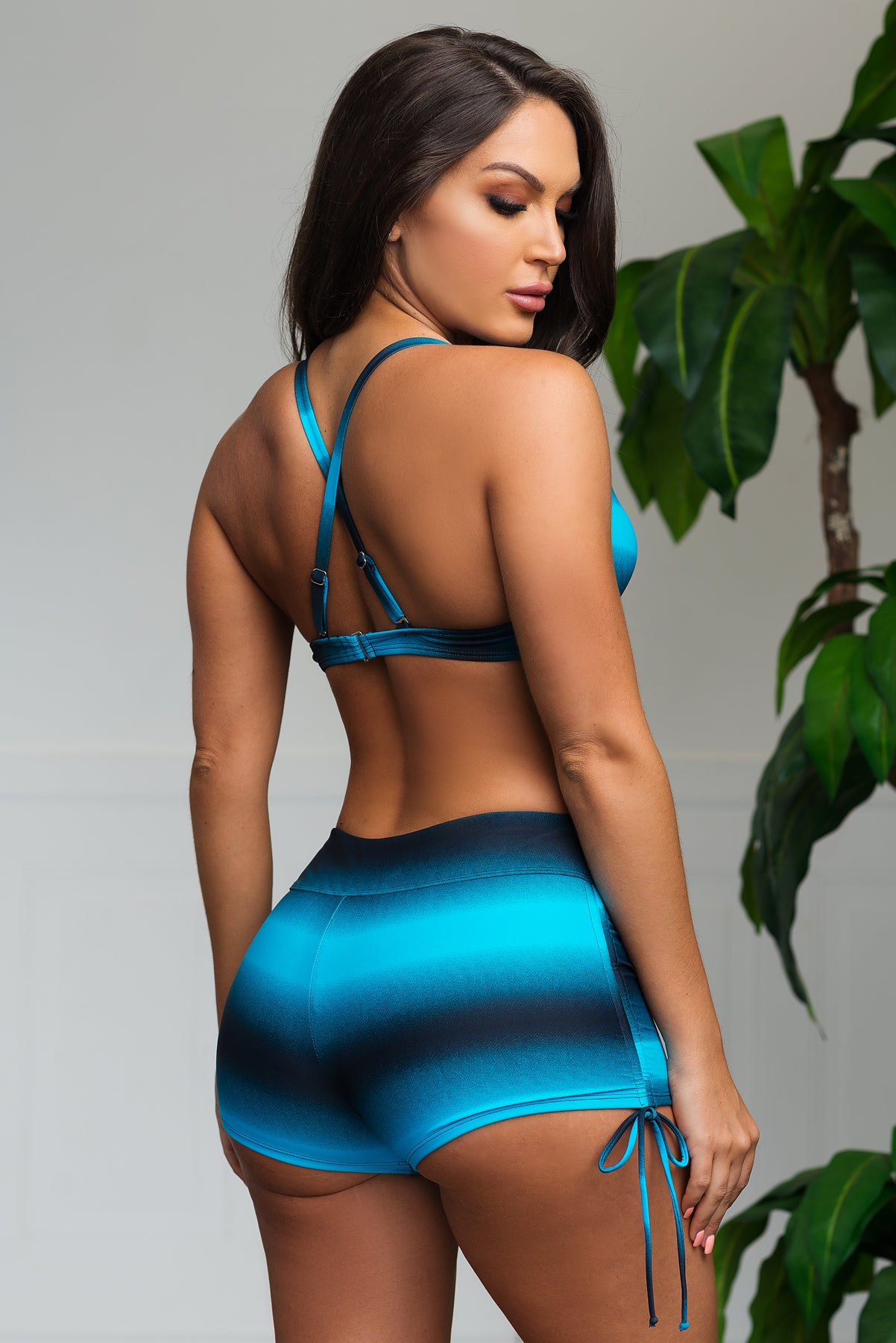 Fire Sands Two Piece Swimsuit - Blue