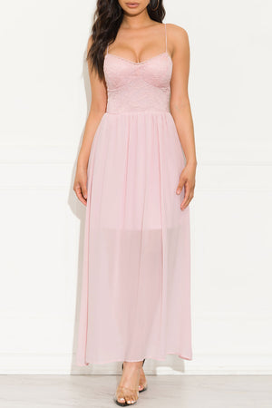 Day Dreaming Dress Pale Pink