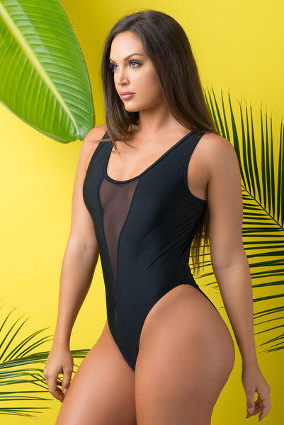 Aruba One Piece Swimsuit BLACK