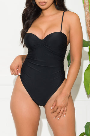 Oceanwalk Beach One Piece Swimsuit Black