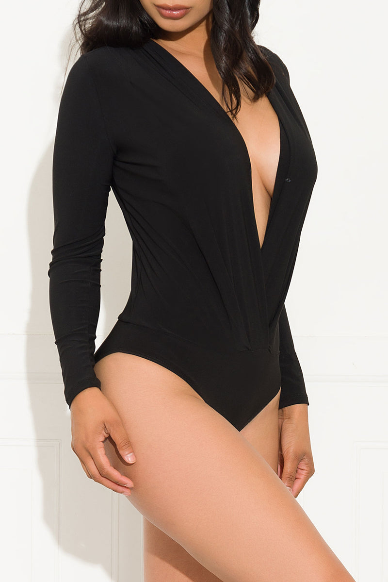 Spread Love Bodysuit Black