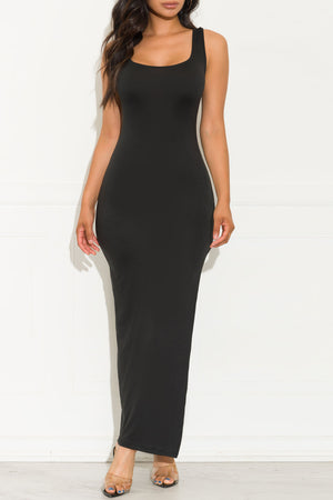Free Spirit Maxi Dress Black