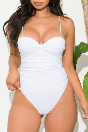 Oceanwalk Beach One Piece Swimsuit White