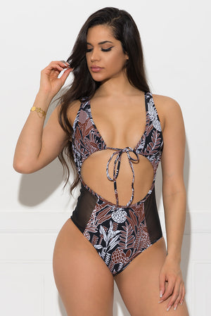 Costa Island One Piece Swimsuit