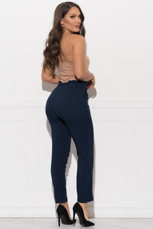 Lucy Pants - Navy Blue