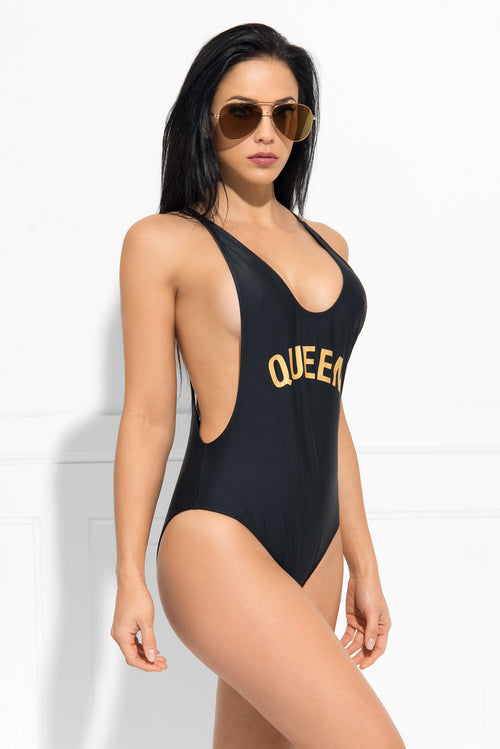 Queen  One Piece Swimsuit