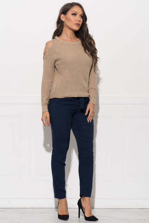 Brandy Sweater - Taupe