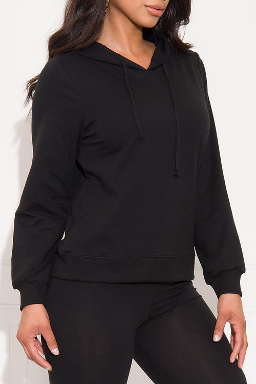 Casual Run Sweater/Hoodie Black