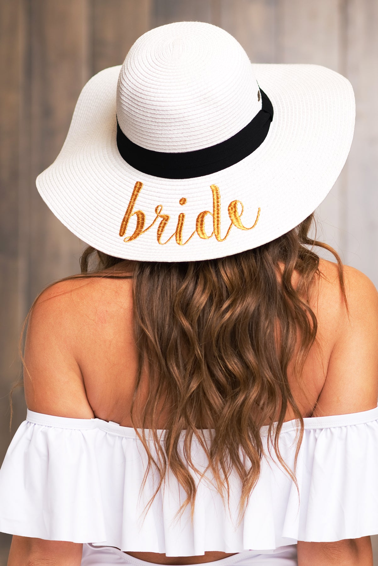 Bride hat - White