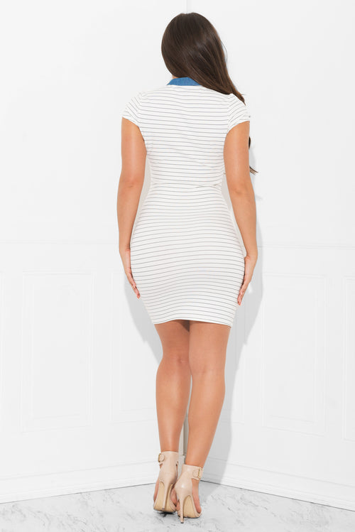 Marilyn Striped Dress