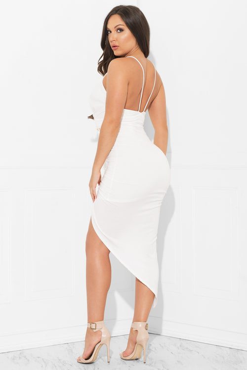 Wendolyn Dress White