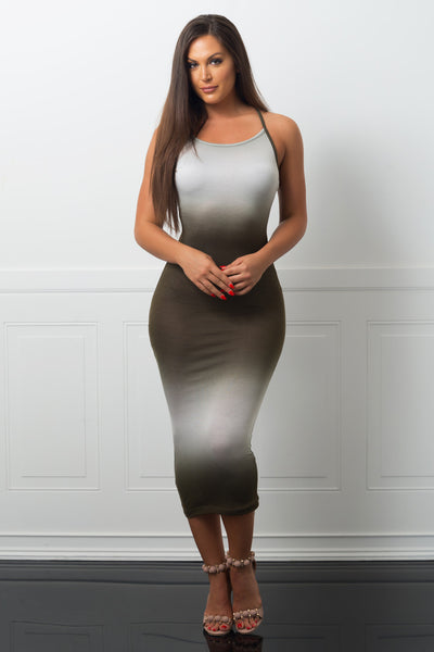 Take A Look Dress Olive-RESTOCKED