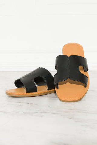Paradise Sandals - Rose Gold